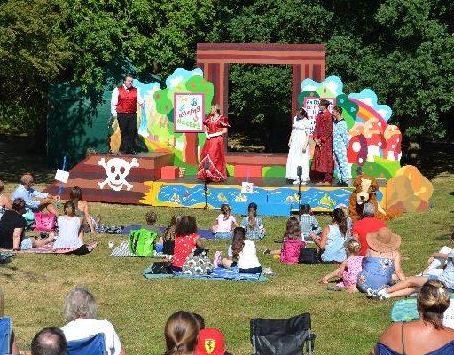Peter Pan outdoor theatre